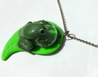 Mimi frog by cirelin