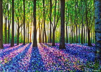 A Morning Walk Through Bluebells by JessicaTHamilton