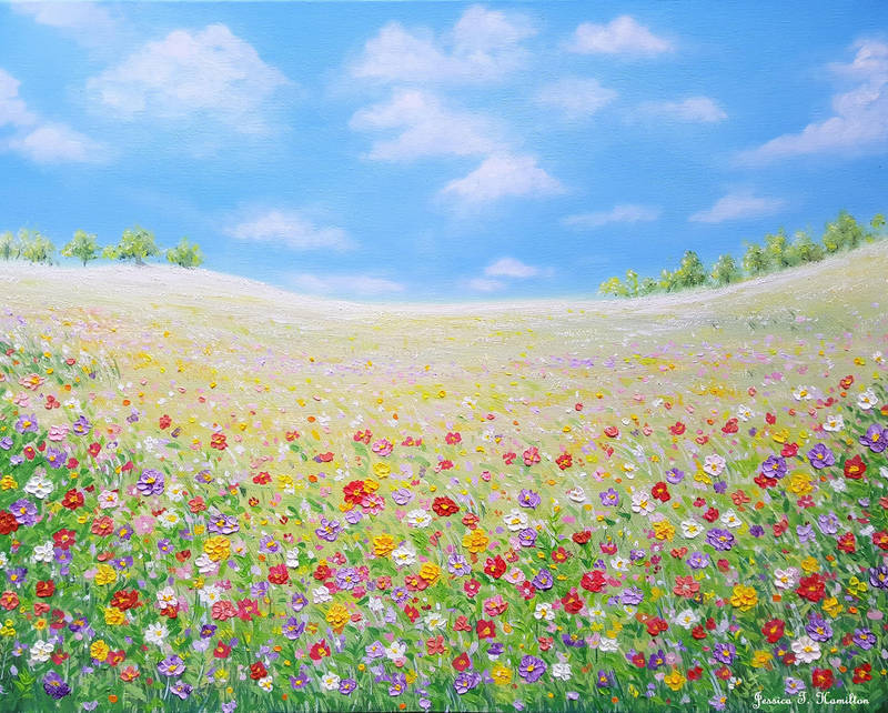 Fields of Spring by JessicaTHamilton