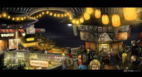 The Night Perspective by buraisuko