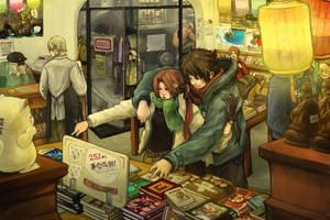 The Bookstore by buraisuko