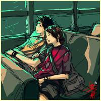 Bus-ride Blues by buraisuko