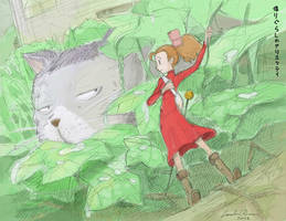 Kari gurashi no Arietti (The Borrower Arrietty) by ncillustration