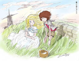 Omoide no Marnie (When Marnie Was There) by ncillustration