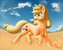 Wheat field by The1Xeno1