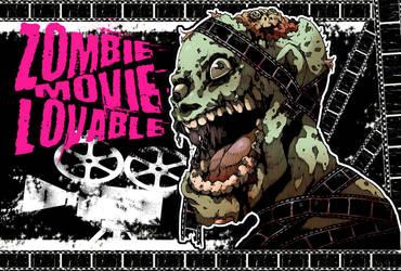 Zombie movie lovable by redkamome