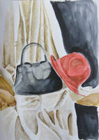 still life watercolor by gosia-jasklowska