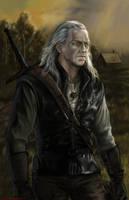 Geralt of Rivia by Bathorygen