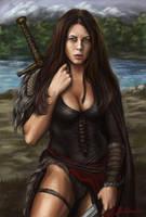 Warrior-queen by Bathorygen