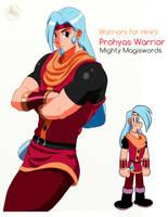 Prohyas Warrior (Fanart) by Jamegerea