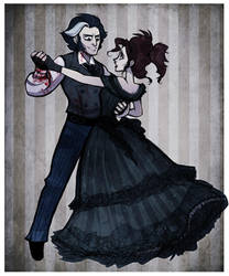 Mrs. Lovett's last dance by hanime87