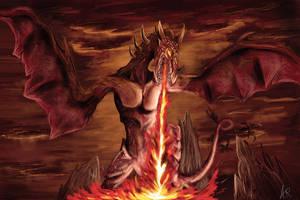 Dragon Hell by L0rdHypnos