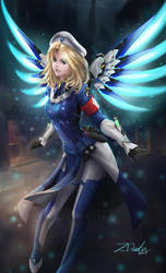 Combat Medic Mercy by Z-Duke