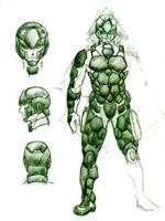 Battle Suit - Model DT by Rodrigokun