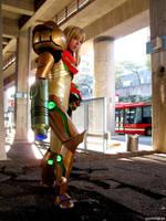 Metroid Varia Suit version 2 by pixel-ninja