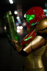 Metroid Varia Suit by pixel-ninja