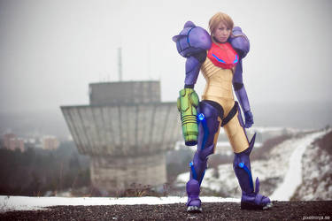Gravity Suit by pixel-ninja