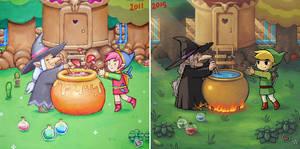 Draw it again - Zelda by pixel-ninja