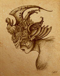 Templar Sketch by SirJarva