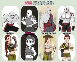 Oc Style Jam Entry by Spodness