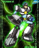 MMX5 - Gaea Armor by Shinobi-Gambu