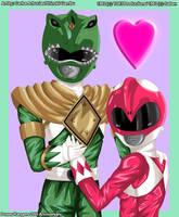 Ranger Love by Shinobi-Gambu