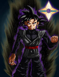 Black Goku by Shinobi-Gambu