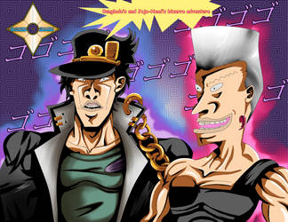 Butt-head's Bizarre Adventure by Shinobi-Gambu