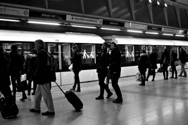 In a Station of the Metro by AmyKPhotos