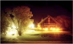 Warm radiance on winter nights by B-Hart
