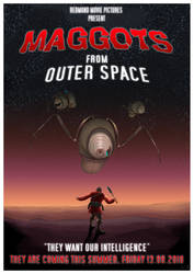 MAGGOTS - FROM OUTER SPACE by handclaw