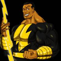 Black Adam The Rock by hulkdaddyg