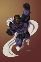 Blue Marvel by hulkdaddyg