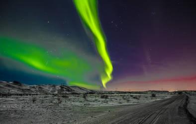 Northern Lights by SlinkyJynx
