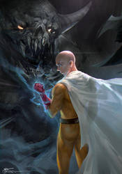 OnePunchMan Sketch4 by JeremyChong