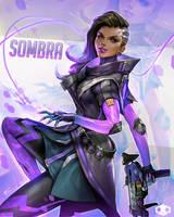 Sombra Fanart by JeremyChong