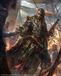 Franois-lOlonnais Pirate by JeremyChong