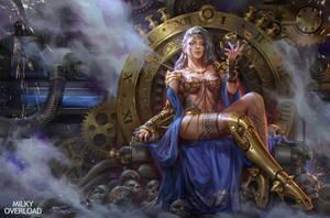 Milky Clock Witch by JeremyChong