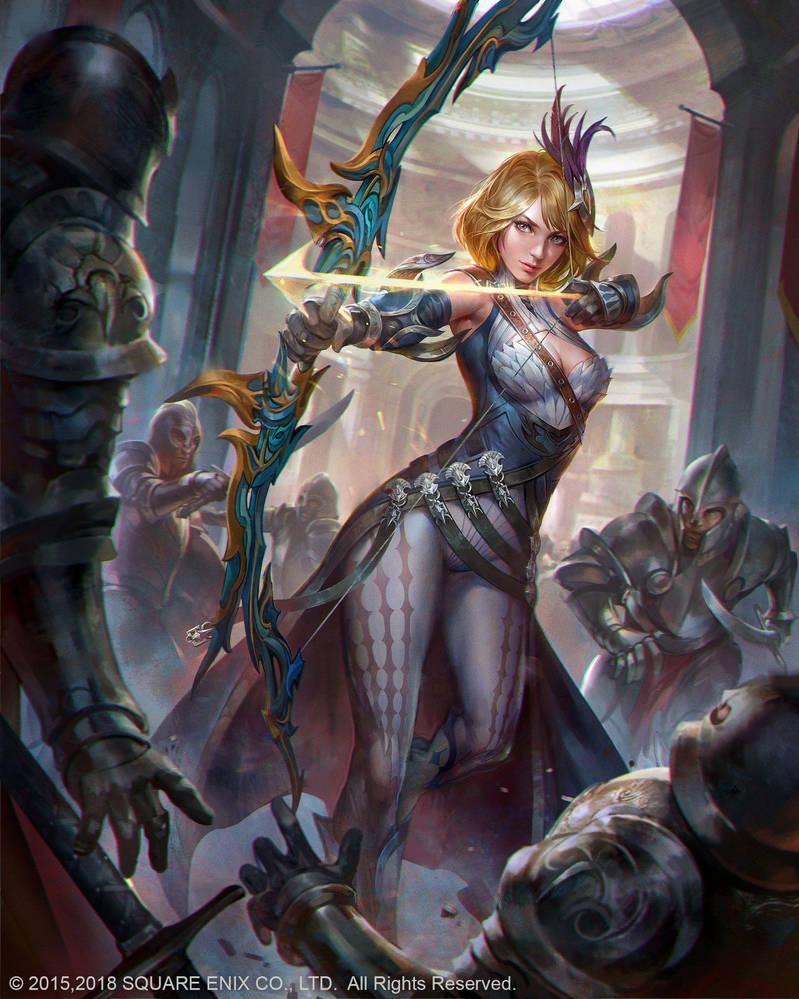 Sarah D Mobius Final Fantasy by JeremyChong
