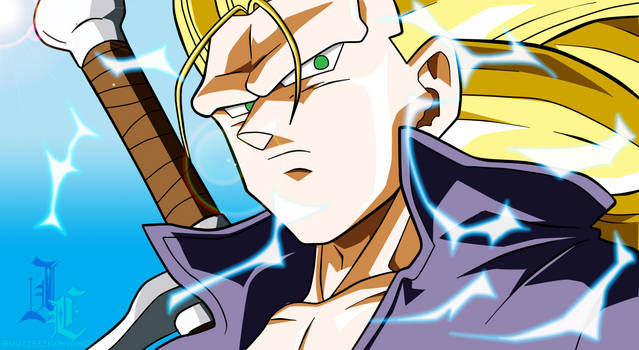 Trunks Practice By Moxie2d On