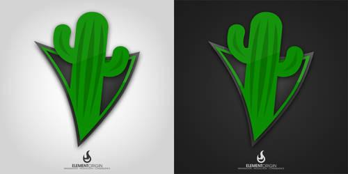 Cactus Down Logo by dalla-kun