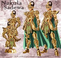 The Golden Armor of Nakula and Sadewa by elangkarosingo