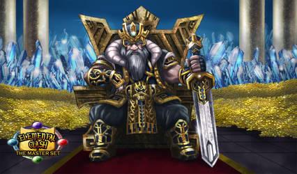 Laurin, King of Dwarves by elangkarosingo