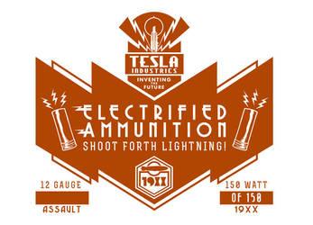 Tesla Industries Electrified Ammunition Box Cover by PaulRomanMartinez