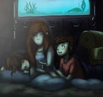 movie night by Aeveternal