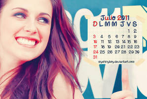 Kristen Calendario Julio2011 by MyShinyBoy