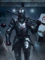 Knight by AlexanderKretov