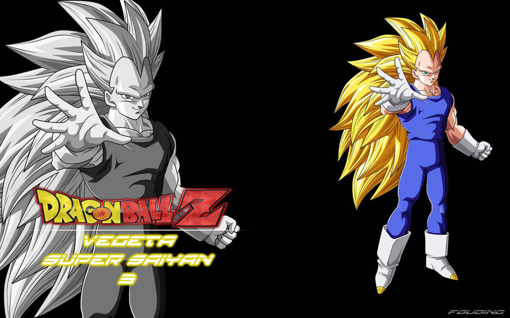 Wallpaper Dragon Ball Z Vegeta Super Saiyan 3 By Fouding On Deviantart