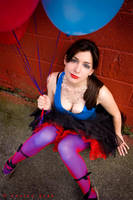 Bethany red and blue... by khavi