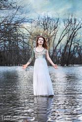 She walks on water by khavi